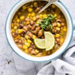 Spicy Slowcooker Bean Soup {Vegan, Gluten-Free}