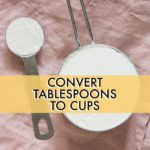 How Many Tablespoons In A Cup?