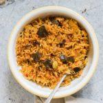 Tomato Rice {Vegan & Gluten-free}