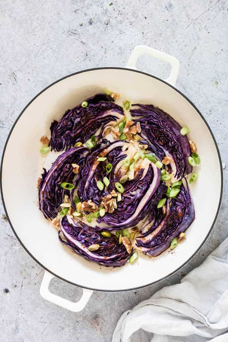 how to cook red cabbage for roast