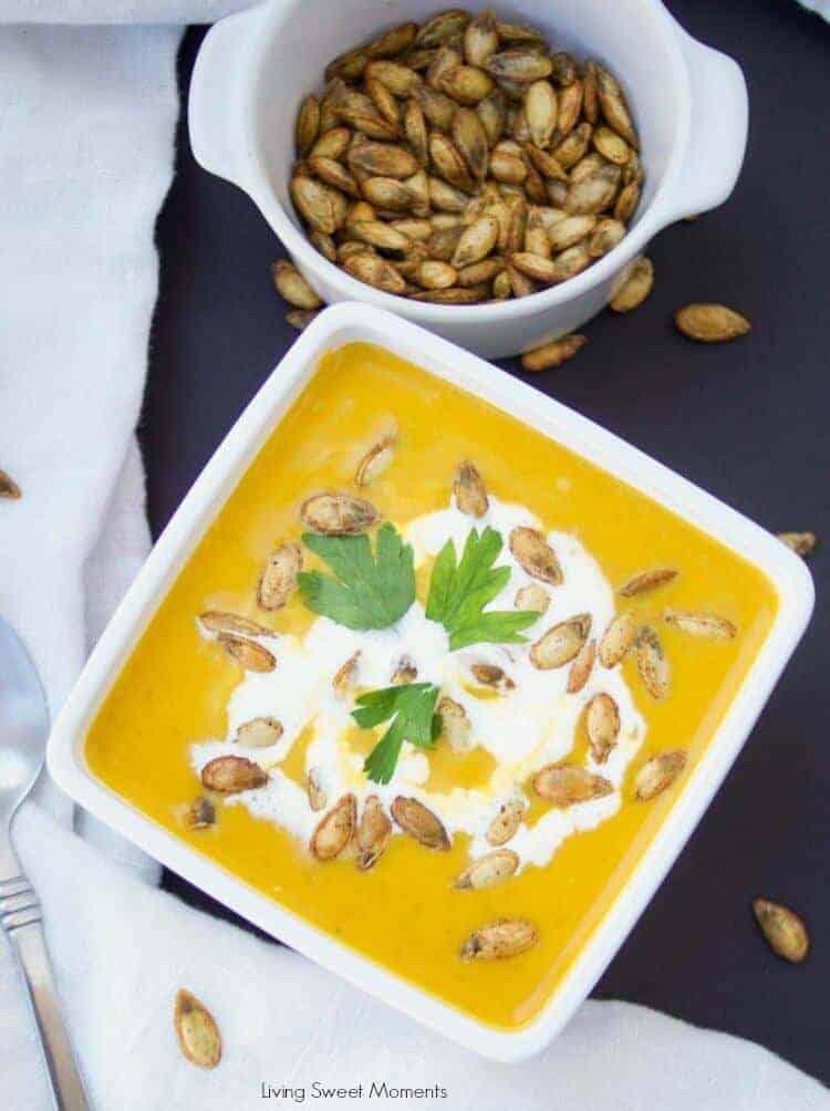 butternut squash instant pot soup