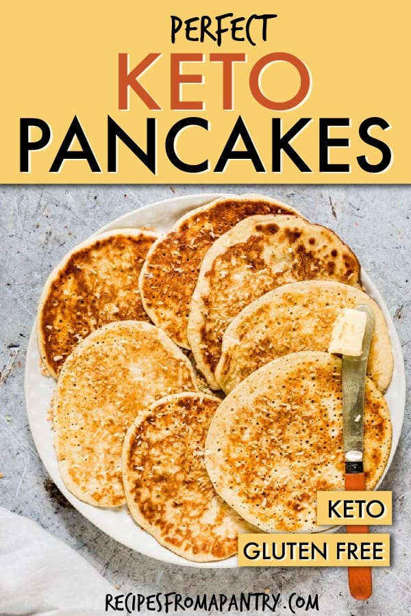 PERFECT KETO PANCAKES