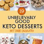 19 Unbelievably Good Keto Desserts {Includes Net Carb Counts}
