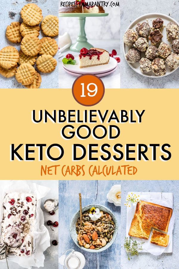 19 unbelievably good keto desserts