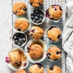 Easy Vegan Blueberry Muffins
