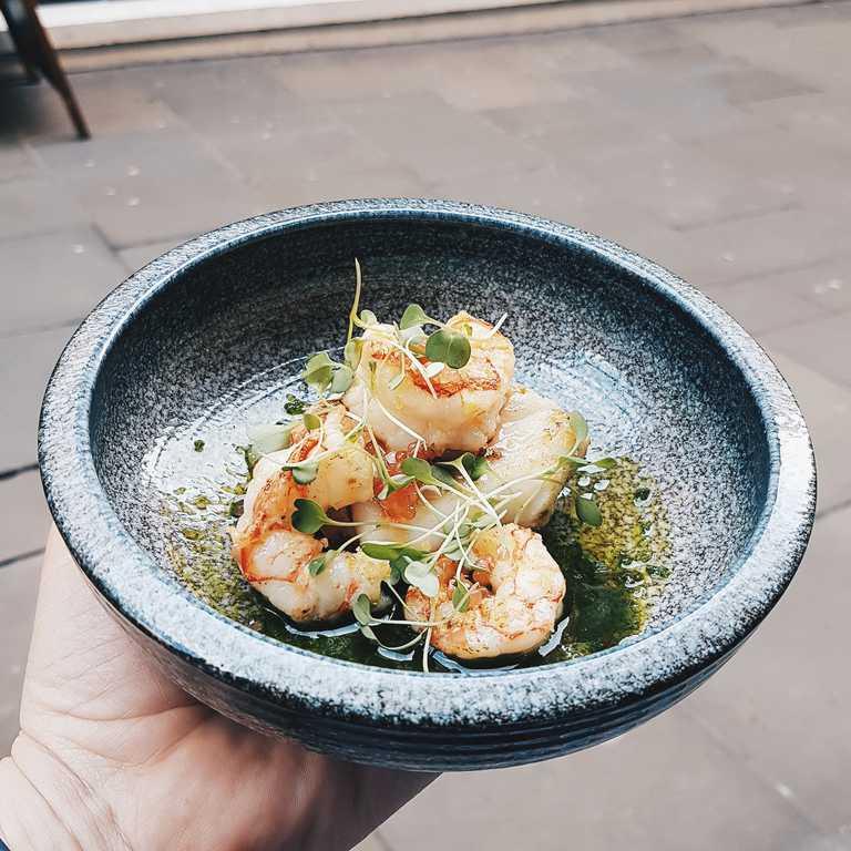 Iceland Food Review - Jumbo Prawns