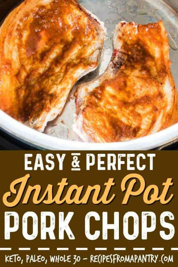 instant pot pork chops