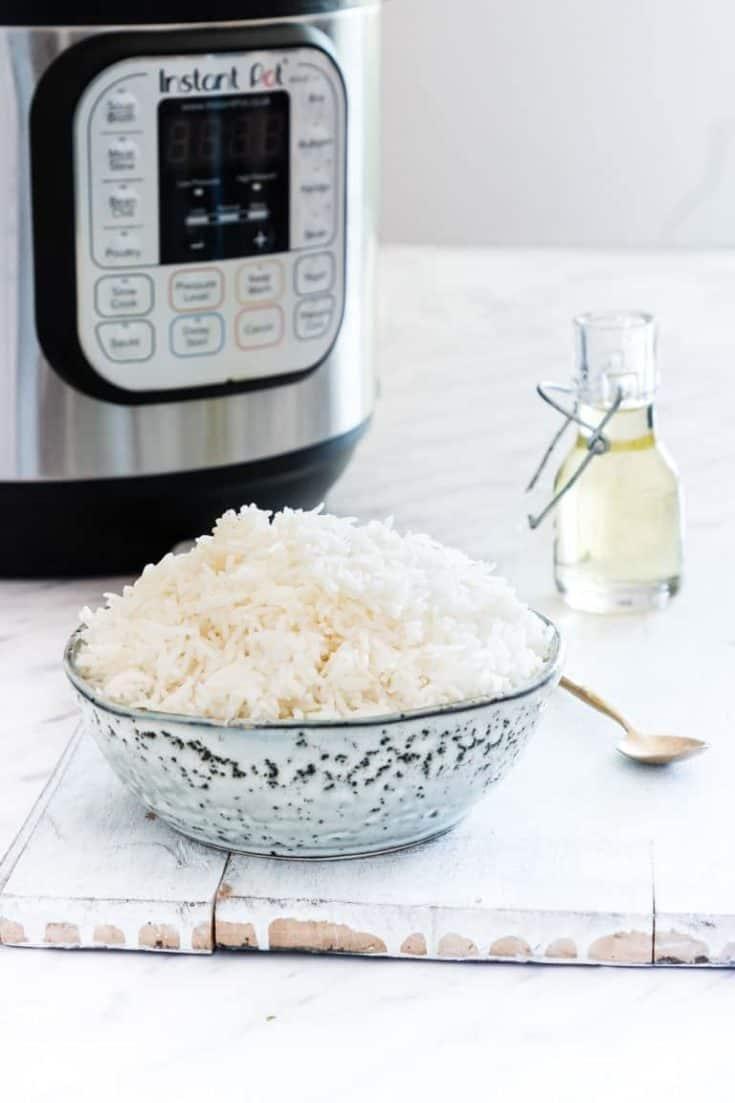 Instant Pot Rice – 4 Ways + Video Tutorial {Vegan, Gluten-Free}