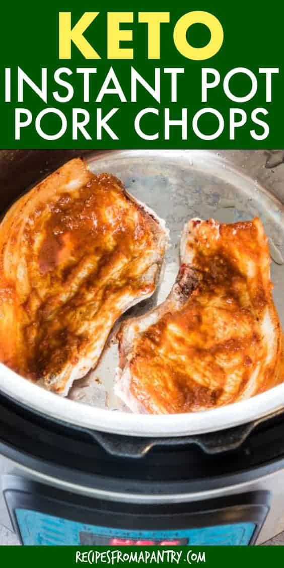 keto instant pot pork chops