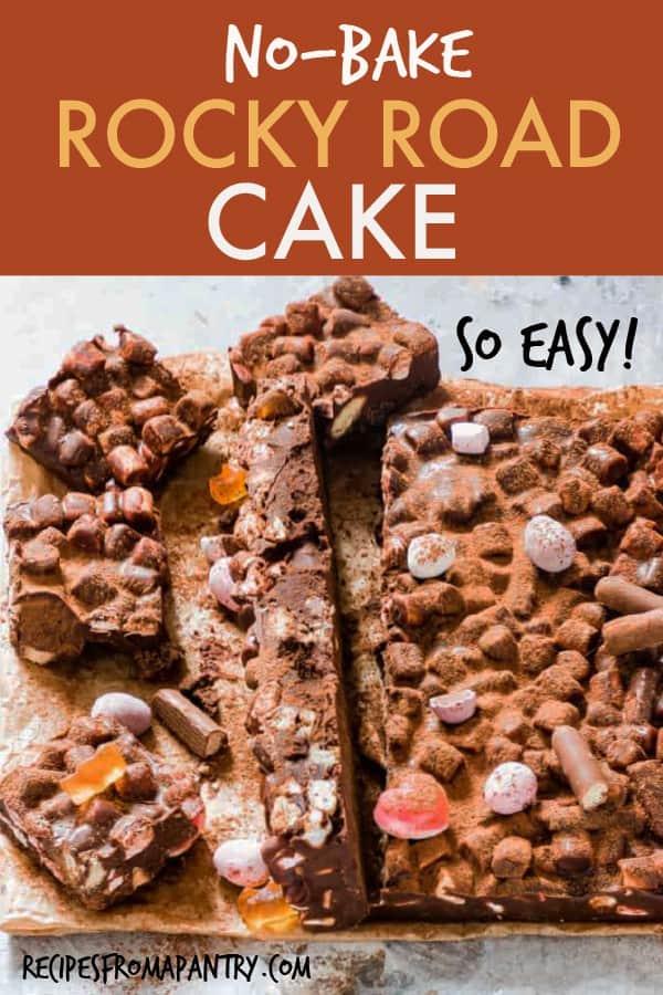 ROCKY ROAD CAKE