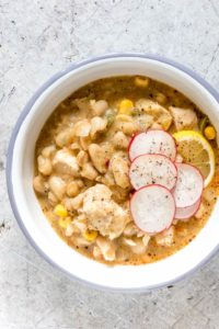 Instant Pot White Chicken Chili {Gluten-Free}