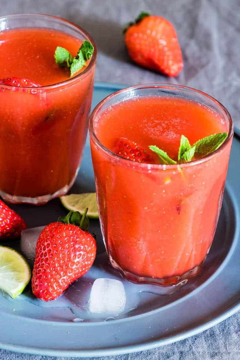 Strawberry Daiquiri Frozen Daiquiri Gluten Free Vegan Recipes From A Pantry