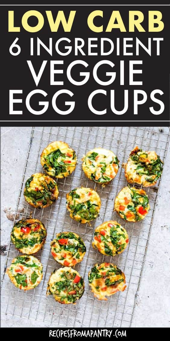 LOW CARB VEGGIE EGG CUPS