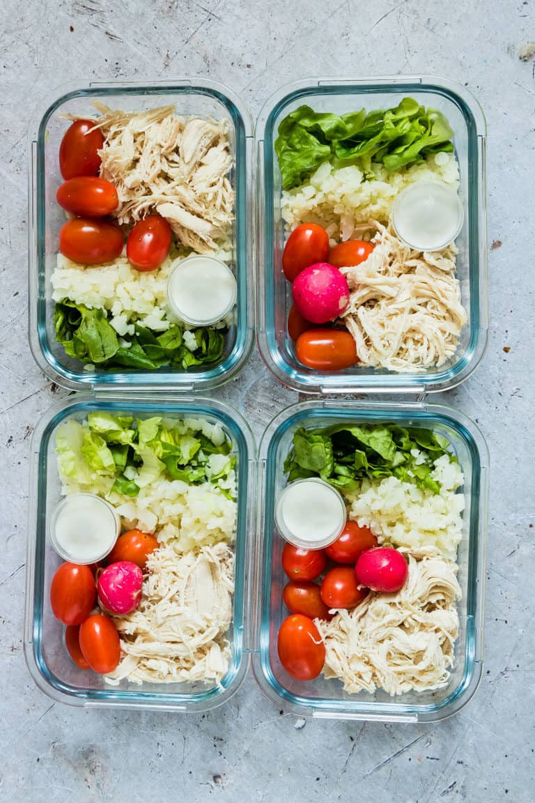 Instant Pot Shredded Chicken Meal Prep Solutions