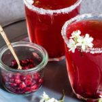 Pomegranate Martini {Gluten-Free, Vegan}