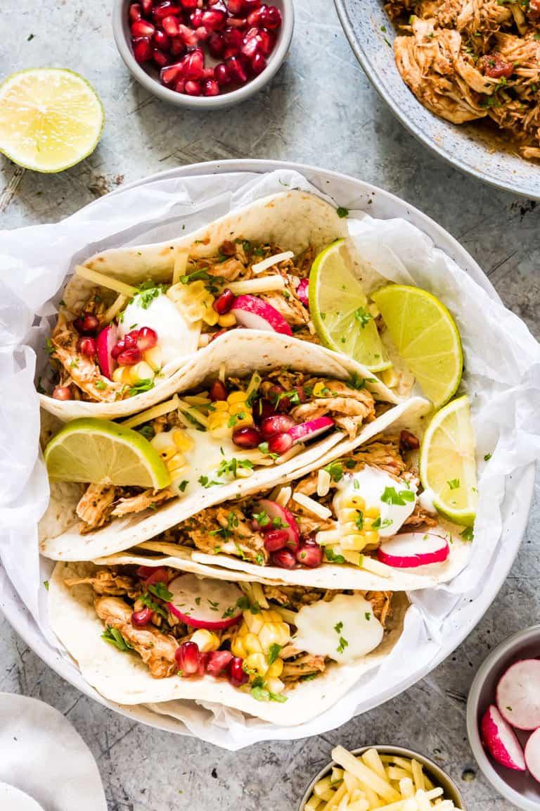 Instant Pot Chicken Tacos Tutorial Gluten Free