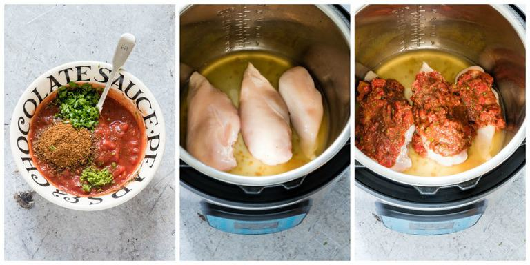 tutorial of how to make Instant pot tacos
