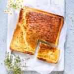 Baked Almond Flour Pancakes With Orange and Thyme {Low Carb, Gluten-Free, Keto}