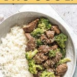 INSTANT POT BEEF AND BROCCOLI