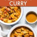 INSTANT POT PUMPKIN PLANTAIN CURRY