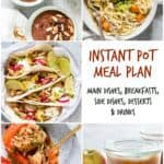 October Instant Pot Meal Plan