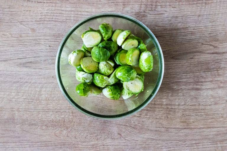 brussels sprouts in a bowl