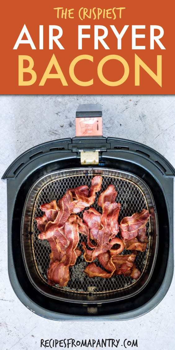 THE CRISPIEST AIR FRYER BACON