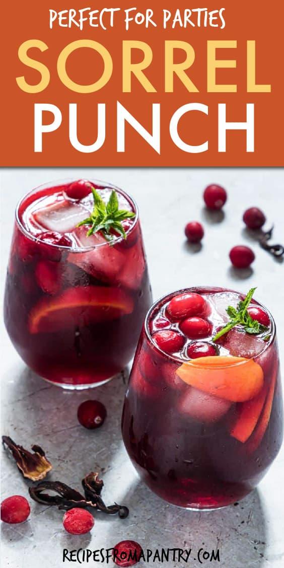 sorrel punch