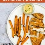 GOLDEN CRISPY AIR FRYER CHICKEN BREAST