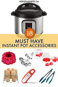 18 MUST HAVE INSTANT POT ACCESSORIES