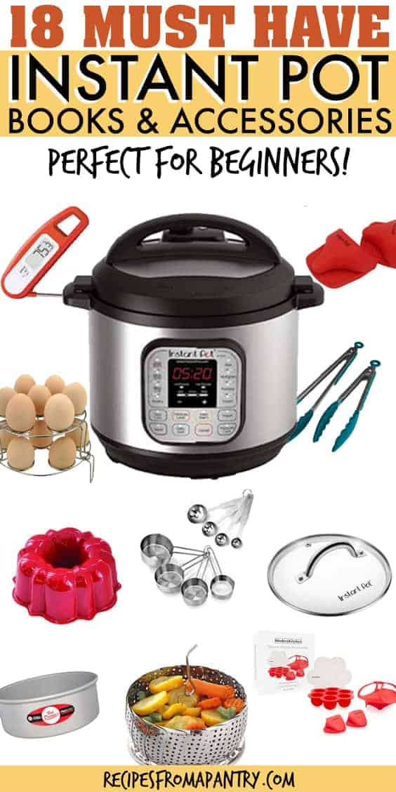 INSTANT POT ACCESSORIES FOR BEGINNERS