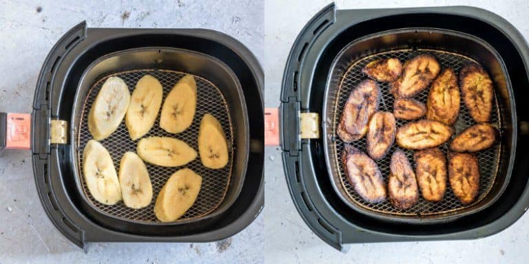 making fried plantains in the air fryer