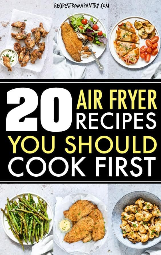 air fryer recipes you should cook first