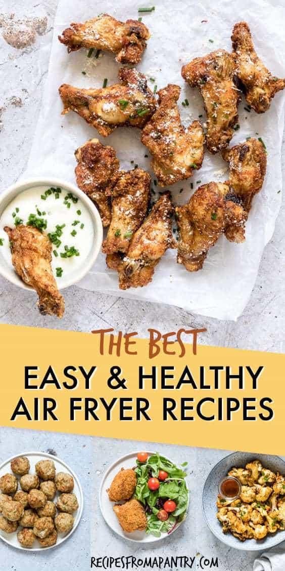 easy healthy air fryer recipes