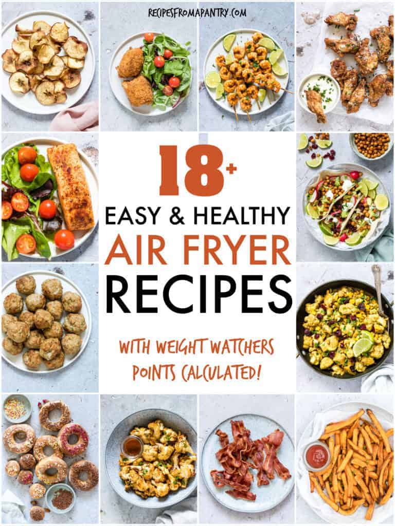 EASY AND HEALTHY AIR FRYER RECIIPES