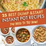 25 BEST DUMP AND START INSTANT POT RECIPES