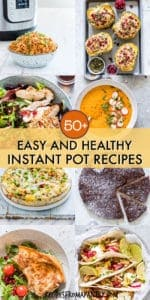 Easy and Healthy Instant Pot Recipes