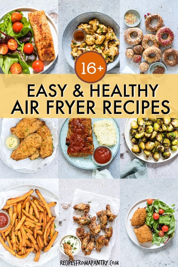 easy healthy air fryer recipes