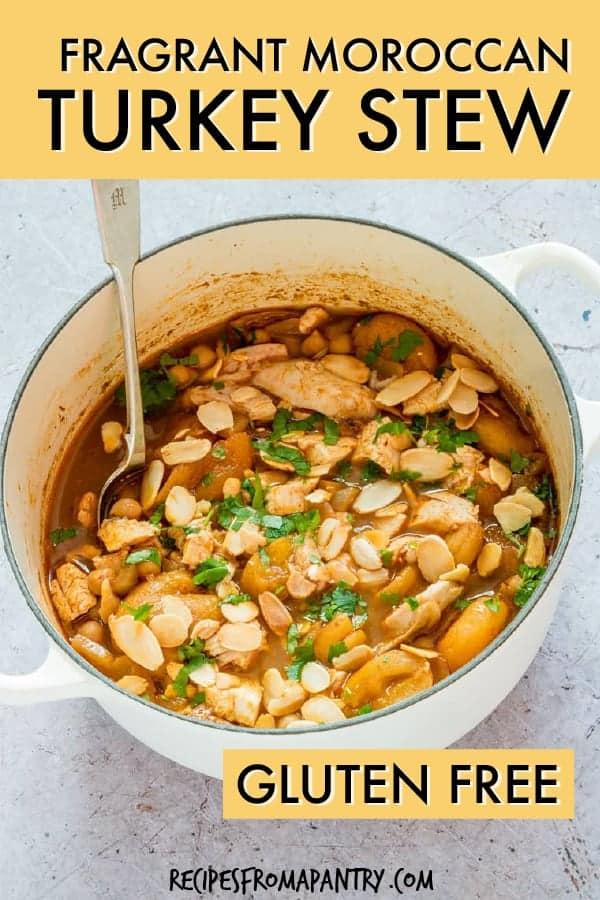 Fragrant Moroccan turkey stew