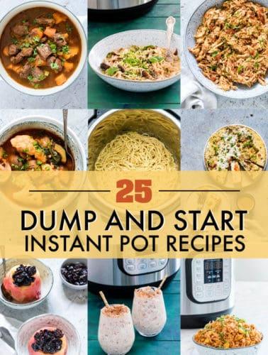 25 instant pot dump recipes header image