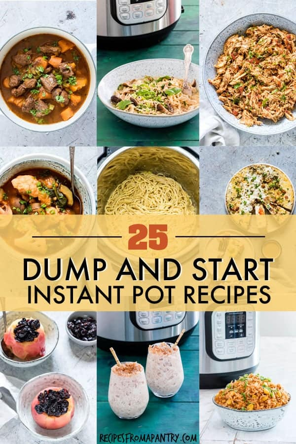 Instant Pot Dump And Start Recipes That You Ll Actually Love Recipes From A Pantry