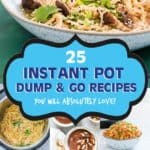 INSTANT POT DUMP AND START RECIPS FOR BEGINNERS
