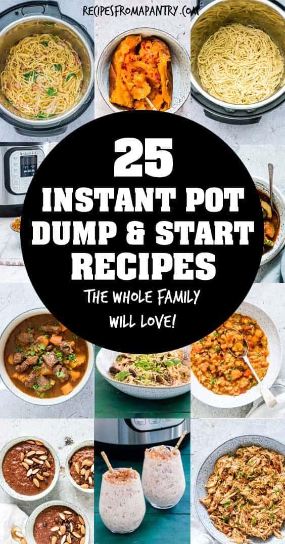 instant pot dump and go recipes