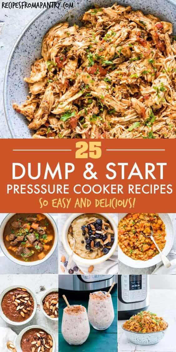 25 pressure cooker dump recipes