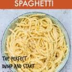 cheesy garlic butter pasta