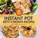 KETO INSTANT POT CHICKEN RECIPES