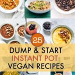 25 Vegan Instant Pot Dump Recipes