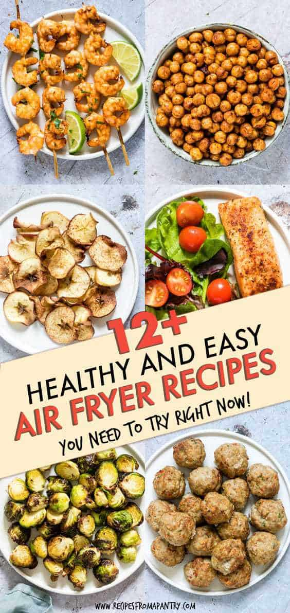 HEALTHY AND EASY AIR FRYER RECIPES