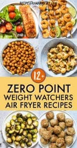 ZERO POINT AIR FRYER WEIGHT WATCHERS RECIPES