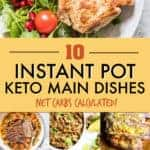 KETO INSTANT POT MAIN DISHES